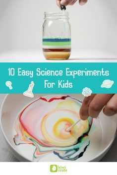 Density. Polymers. Magnetism. No, we're not developing a high school science curriculum! These are just a few of the scientific concepts the experiments below illustrate. Everyone can participate in these easy, top-rated science experiments for kids. You just may have a budding scientist on your hands!