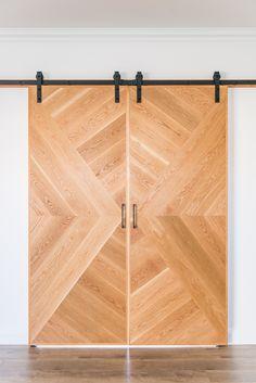 Loughlin Furniture : home Home Bedroom, Master Bedroom, Chevron Door, Door Design Interior, Barn Doors, Kenya, Jute, Home Remodeling, Bungalow