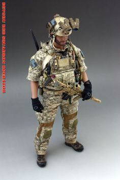Bbi Elite Force Scale 1 6 Action Figure Seal Team Six