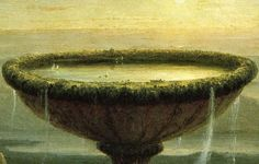 Thomas Cole: The Titan's Goblet. Detail. 1833. Oil on canvas.
