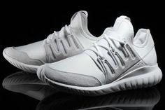 "adidas Tubular Radial ""Crystal White"""