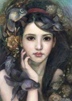 Black Moor by Annie Stegg