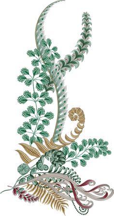 Hd Flowers, Botanical Flowers, Flowers Nature, Textile Pattern Design, Pattern Art, Greek Pattern, Baroque Pattern, Vector Pattern, Zentangle