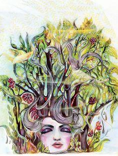 Felicia Atanasiu  Wysublimowany, wyrazisty, drapieżny klimat boho. Wywiad z ilustratorką w Moda Cafe!