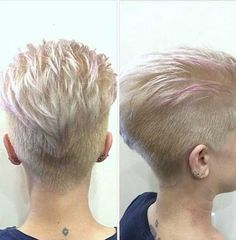 Pixie Undercut Hair
