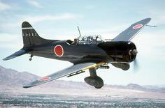 """Aichi D3A2 """"val"""":  - Fabricante: Aichi  - País: Japão  *Teve uma importante participação no ataque a Pearl Harbor, apesar de que ele se tornou obsoleto em 1940."""