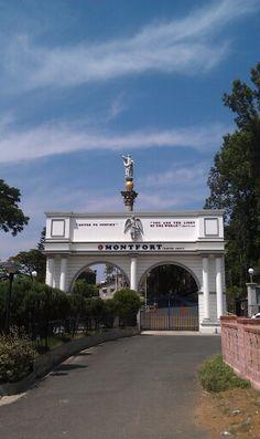 Entrance to Montfort school in Yercaud