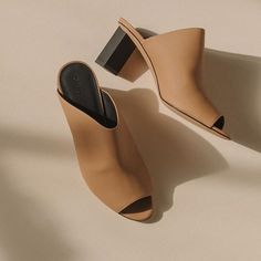 The Rina Mule from Gray Matters #mules #shoes #spring #thedreslyn