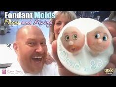 CAKE DECORATING FONDANT MOLDS KAREN DAVIES TUTORIALS IDEAL FOR BEGINNERS PlayList