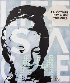 Art I Popart I Streetart I Spraypaint I Icons I Happiness I Love I Joy I Tobias Schreiber I Artist I Künstler I Marie Antoinette I Painting