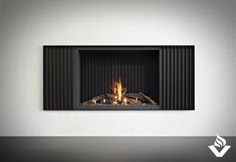 B100H by Stuv from Vancouver Gas Fireplaces.  Modern gas fireplace for new builds or renovations