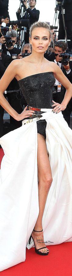 #Natasha #Poly in Atelier Versace♔ Cannes Film Festival 2015 Red Carpet ♔ Très Haute Diva ♔