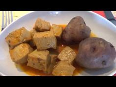Atún o Bonito en Adobo - YouTube Potatoes, Chicken, Meat, Vegetables, Cooking Ideas, Food, Youtube, Fish Recipes, Bonito