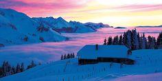Naturpark Gantrisch im Winter