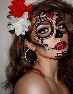 Les plus beaux maqui Amazing Halloween Makeup, Halloween Eyes, Halloween Makeup Looks, Halloween Costumes, Halloween Party, Halloween College, Halloween Office, Pretty Halloween, Halloween Recipe