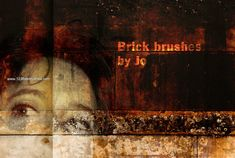 Grunge Brick - Download  Photoshop brush http://www.123freebrushes.com/grunge-brick/ , Published in #GrungeSplatter. More Free Grunge & Splatter Brushes, http://www.123freebrushes.com/free-brushes/grunge-splatter/ | #123freebrushes