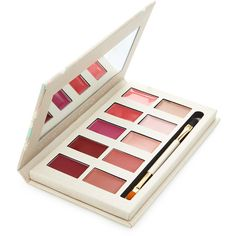 Forever 21 Forever 21 Ultimate Lip Palette (270 PHP) ❤ liked on Polyvore featuring beauty products, makeup, lip makeup, beauty, lips, cosmetic purse, makeup purse, wash bag, forever 21 makeup bag and toiletry kits