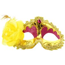 Venetiansk Ögonmask med Blomma Gul