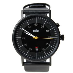 Braun. I don't like watches, but I really dig this one.