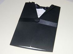 This is a great tux invitation!  Bachelor invite or ask groomsmen
