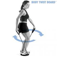 Com Body Twist Board, um acessório de desporto para body-building e fitness, poderá obter ótimos resultados sem precisar de ir ao ginásio com a vantagem de fazer todos os exercícios em casa. Trabalha os braços, peito, abdominais, nádegas e pernas. Ideal p