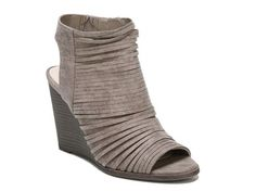 Women's Women Heather Wedge Bootie -Taupe/Stone - Taupe/Stone