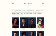 """Former techie-turned-freelance photographer Helena Price is working on a brilliant project called """"Techies,"""" in which she takes photographic portraits of those """"who tend to be underrepr…"""