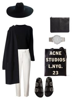 Acne Studios by phoenixlovechild on Polyvore featuring polyvore fashion style Maison Margiela 3.1 Phillip Lim Givenchy Acne Studios Pieces Yves Saint Laurent clothing
