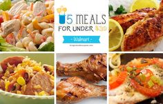 5 Meals for Under $30 at Walmart Deals - Free Weekly Meal Planning at Walmart That Will Make Your Life Easier