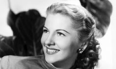Joan Fontaine around 1948.