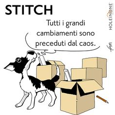 Stitch e il trasloco... prima parte