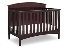 Delta Children Archer 4-in-1 Crib Dark Chocolate