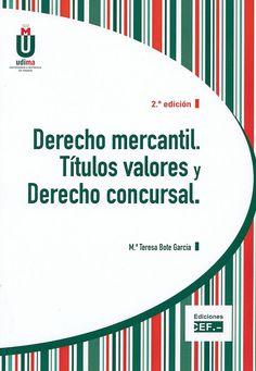 """https://flic.kr/p/sJA235   Derecho mercantil : títulos valores y derecho concursal / María Teresa Bote García, 2015   <a href=""""http://encore.fama.us.es/iii/encore/record/C__Rb2659586?lang=spi"""" rel=""""nofollow"""">encore.fama.us.es/iii/encore/record/C__Rb2659586?lang=spi</a> B E 347.7 BOT"""