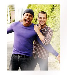 NCIS LA - both are pretty yummy!!!