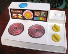 FISHER PRICE 1978 Vintage Cooker Hob Stove Top #919. PATENT PENDING in Toys & Games, Vintage & Classic Toys, Other Vintage & Classic Toys   eBay