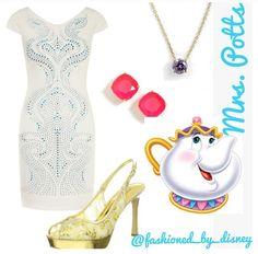 Mrs pots :) disney outfits :)
