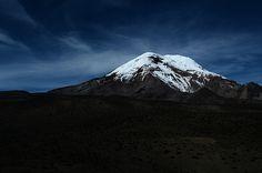 Volcan Chimborazo en Ecuador