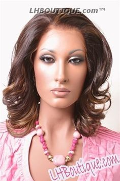 Luxe Beauty Supply - A Plus O Zone Synthetic Lace Front Wig - 004/Anita, $59.99 (http://www.lhboutique.com/a-plus-o-zone-synthetic-lace-front-wig-004-anita/)