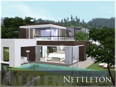 Nettleton house by Aloleng - Sims 3 Downloads CC Caboodle