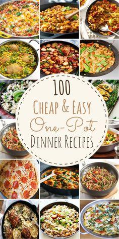 100 Cheap & Easy One-Pot Dinner Recipes