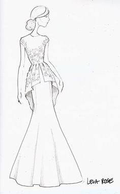 easy fashion design sketches - photo #41