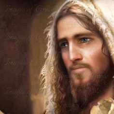 The Annointed - Images of Grace. Original artwork of our Lord Jesus Christ. For purchasing information, visit our website www.imagesofgrace.com