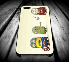 avenger minion vintage for iPhone 4/4s/5/5s/5c/6/6 Plus Case, Samsung Galaxy S3/S4/S5/Note 3/4 Case, iPod 4/5 Case, HtC One M7 M8 and Nexus Case ***
