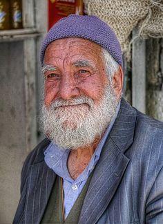 Old man in Mardin, Turkey.