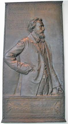 "Augustus St.Gaudens, bronze of George Hollingsworth, American Wing, Museum of Fine Arts, Boston.  ""Hollingsworth [was] an esteemed artist and teacher."""
