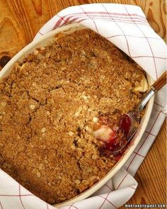 Apple-Blueberry Crisp Recipe