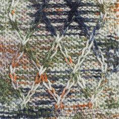 Dálmata´s: 50% Acrylic/Acrílico, 30% Wool/Lã, 20% Mohair. Needles/Agulhas 5 1/2 - 6 (USA 9 - 10). Weight/Gramagem 100g = 110m (3.50oz = 120yds)