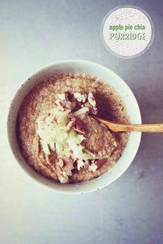 Apple Pie Chia Porridge