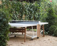 Gearing up for outdoor weather with the new RS Folding Ping Pong Table | DSHOP