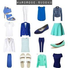 "capsule wardrobe 2014style sudoku | spring sudoku"" by kristinehlange on Polyvore"